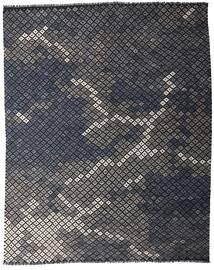 Kelim Moderne Teppe 233X288 Ekte Moderne Håndvevd Mørk Grå (Ull, Afghanistan)