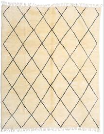 Berber Moroccan - Beni Ourain Teppe 280X345 Ekte Moderne Håndknyttet Beige/Mørk Beige Stort (Ull, Marokko)