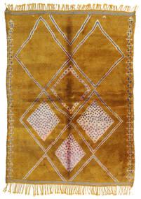 Berber Moroccan - Mid Atlas Teppe 190X265 Ekte Moderne Håndknyttet Lysbrun/Brun (Ull, Marokko)