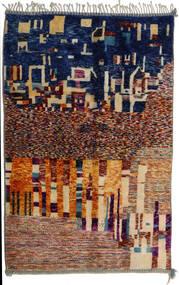 Berber Moroccan - Mid Atlas Teppe 167X267 Ekte Moderne Håndknyttet Beige/Mørk Beige (Ull, Marokko)