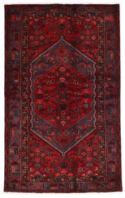 Hamadan Teppe 134X215 Ekte Orientalsk Håndknyttet Mørk Rød/Rød (Ull, Persia/Iran)