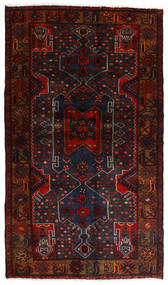Hamadan Teppe 111X197 Ekte Orientalsk Håndknyttet Mørk Rød (Ull, Persia/Iran)