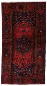 Hamadan Teppe 109X201 Ekte Orientalsk Håndknyttet Mørk Rød (Ull, Persia/Iran)