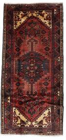 Hamadan Teppe 99X211 Ekte Orientalsk Håndknyttet Mørk Rød (Ull, Persia/Iran)