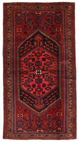 Hamadan Teppe 106X200 Ekte Orientalsk Håndknyttet Mørk Rød (Ull, Persia/Iran)