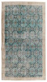 Vintage Heritage Teppe 112X197 Ekte Moderne Håndknyttet Lys Grå/Turkis Blå (Ull, Persia/Iran)