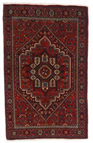 Gholtogh Teppe 80X127 Ekte Orientalsk Håndknyttet Mørk Rød/Mørk Brun (Ull, Persia/Iran)