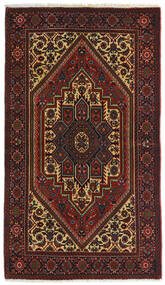 Gholtogh Teppe 78X135 Ekte Orientalsk Håndknyttet Mørk Brun/Mørk Rød (Ull, Persia/Iran)