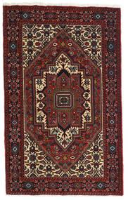 Gholtogh Teppe 81X129 Ekte Orientalsk Håndknyttet Mørk Rød/Mørk Brun (Ull, Persia/Iran)