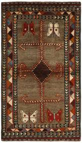 Ghashghai Teppe 117X200 Ekte Orientalsk Håndknyttet Mørk Brun/Brun (Ull, Persia/Iran)