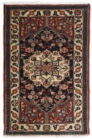 Asadabad Teppe 81X121 Ekte Orientalsk Håndknyttet Mørk Brun/Svart/Lysbrun (Ull, Persia/Iran)