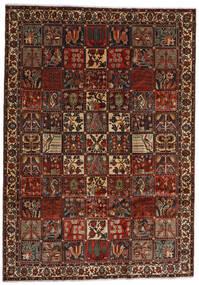 Bakhtiar Teppe 225X317 Ekte Orientalsk Håndknyttet Mørk Brun/Mørk Rød (Ull, Persia/Iran)