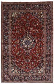 Keshan Teppe 197X306 Ekte Orientalsk Håndknyttet Mørk Rød/Mørk Brun (Ull, Persia/Iran)