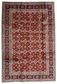 Keshan Teppe 192X283 Ekte Orientalsk Håndknyttet Mørk Rød/Mørk Brun (Ull, Persia/Iran)