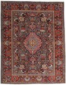 Kashmar Teppe 296X376 Ekte Orientalsk Håndknyttet Mørk Rød/Mørk Grå Stort (Ull, Persia/Iran)