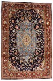 Sarough Sherkat Farsh Teppe 231X344 Ekte Orientalsk Håndknyttet Mørk Brun/Mørk Lilla (Ull, Persia/Iran)