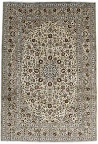 Keshan Teppe 246X357 Ekte Orientalsk Håndknyttet Mørk Brun/Svart (Ull, Persia/Iran)