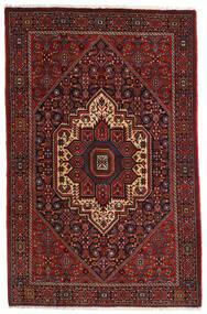 Gholtogh Teppe 107X164 Ekte Orientalsk Håndknyttet Mørk Rød/Mørk Brun (Ull, Persia/Iran)