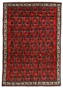 Afshar Teppe 172X250 Ekte Orientalsk Håndknyttet Mørk Rød/Rust (Ull, Persia/Iran)