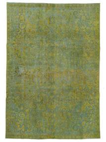 Vintage Heritage Teppe 232X331 Ekte Moderne Håndknyttet Lysgrønn/Olivengrønn (Ull, Persia/Iran)