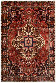 Bakhtiar Teppe 214X316 Ekte Orientalsk Håndknyttet Mørk Brun/Mørk Rød (Ull, Persia/Iran)