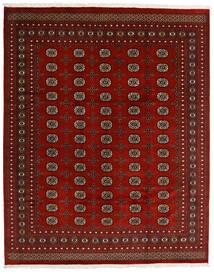 Pakistan Bokhara 2Ply Teppe 247X308 Ekte Orientalsk Håndknyttet Mørk Rød/Rød (Ull, Pakistan)