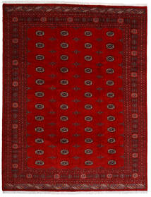 Pakistan Bokhara 3Ply Teppe 247X318 Ekte Orientalsk Håndknyttet Mørk Rød/Rød (Ull, Pakistan)
