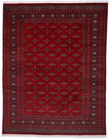 Pakistan Bokhara 2Ply Teppe 241X303 Ekte Orientalsk Håndknyttet Mørk Rød/Mørk Brun (Ull, Pakistan)