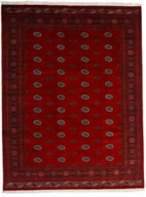 Pakistan Bokhara 3Ply Teppe 247X319 Ekte Orientalsk Håndknyttet Mørk Rød/Rød/Mørk Brun (Ull, Pakistan)