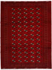 Turkaman Teppe 258X344 Ekte Orientalsk Håndknyttet Rød/Mørk Rød/Mørk Brun Stort (Ull, Persia/Iran)