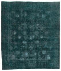 Vintage Heritage Teppe 244X280 Ekte Moderne Håndknyttet Mørk Turkis/Blå (Ull, Persia/Iran)