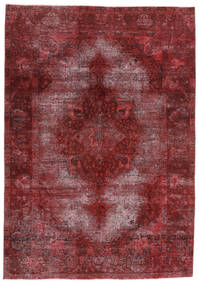 Vintage Heritage Teppe 198X284 Ekte Moderne Håndknyttet Mørk Rød/Lilla (Ull, Persia/Iran)