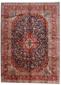 Keshan Teppe 296X400 Ekte Orientalsk Håndknyttet Mørk Rød/Mørk Lilla Stort (Ull, Persia/Iran)