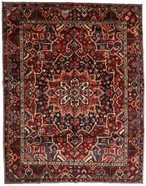 Bakhtiar Teppe 303X390 Ekte Orientalsk Håndknyttet Mørk Rød Stort (Ull, Persia/Iran)