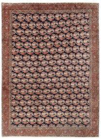 Bidjar Teppe 254X343 Ekte Orientalsk Håndknyttet Mørk Rød/Brun Stort (Ull, Persia/Iran)
