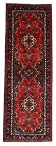 Hamadan Teppe 112X314 Ekte Orientalsk Håndknyttet Teppeløpere Mørk Rød/Rust (Ull, Persia/Iran)