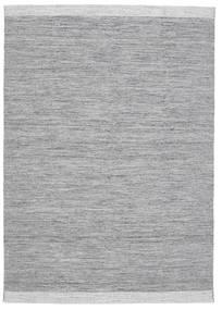 Serafina - Mørk Grå Melange Teppe 160X230 Ekte Moderne Håndvevd Lys Grå/Lys Blå (Ull, India)