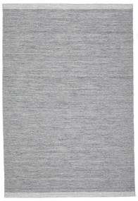 Serafina - Mørk Grå Melange Teppe 200X300 Ekte Moderne Håndvevd Lys Grå/Lys Blå (Ull, India)