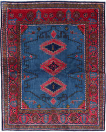 Wiss Teppe 180X228 Ekte Orientalsk Håndknyttet Mørk Blå/Svart (Ull, Persia/Iran)