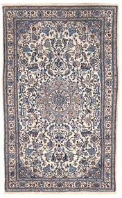 Nain Teppe 151X255 Ekte Orientalsk Håndknyttet Mørk Grå/Beige (Ull, Persia/Iran)