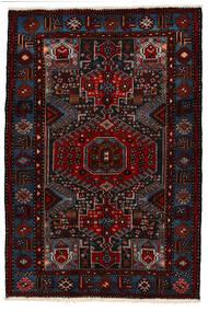 Saveh Teppe 142X210 Ekte Orientalsk Håndknyttet Mørk Rød (Ull, Persia/Iran)