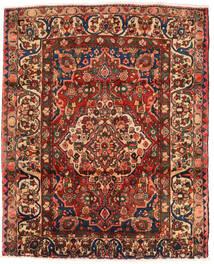 Bakhtiar Teppe 174X214 Ekte Orientalsk Håndknyttet Mørk Brun/Mørk Rød (Ull, Persia/Iran)