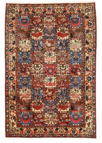 Bakhtiar Collectible Teppe 205X300 Ekte Orientalsk Håndknyttet Mørk Brun (Ull, Persia/Iran)