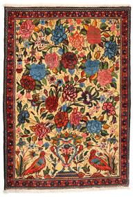 Bakhtiar Collectible Teppe 107X154 Ekte Orientalsk Håndknyttet Mørk Beige/Rød (Ull, Persia/Iran)