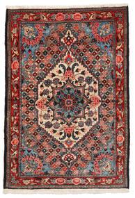 Bakhtiar Collectible Teppe 108X157 Ekte Orientalsk Håndknyttet Mørk Brun/Mørk Rød (Ull, Persia/Iran)