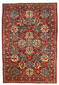 Bakhtiar Collectible Teppe 206X303 Ekte Orientalsk Håndknyttet Mørk Grå/Mørk Rød (Ull, Persia/Iran)