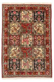 Bakhtiar Collectible Teppe 103X150 Ekte Orientalsk Håndknyttet Mørk Brun/Lysbrun (Ull, Persia/Iran)