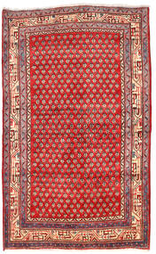 Arak Teppe 125X205 Ekte Orientalsk Håndknyttet Mørk Rød/Rød (Ull, Persia/Iran)