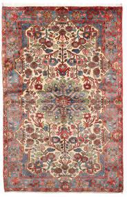 Nahavand Old Teppe 152X236 Ekte Orientalsk Håndknyttet Lysbrun/Mørk Brun (Ull, Persia/Iran)