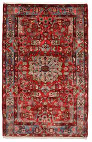 Nahavand Old Teppe 153X243 Ekte Orientalsk Håndknyttet Mørk Brun/Svart (Ull, Persia/Iran)